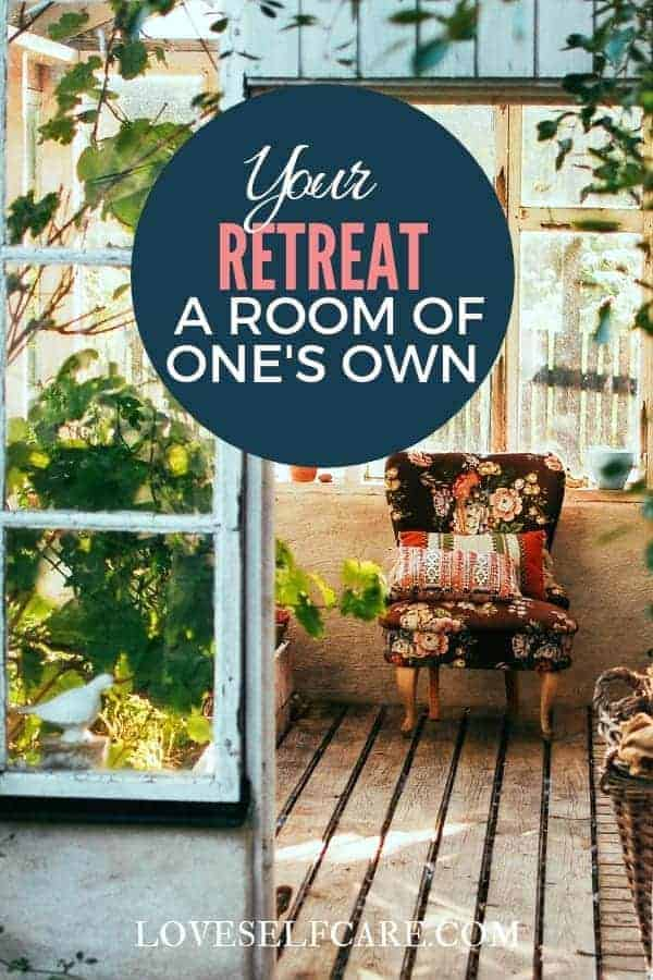 """Interested in ideas for a room of your own? Do tiny houses, """"She Sheds"""" or just a place to relax in peace sound awesome? If the answer is yes, check this out!  https://loveselfcare.com/your-retreat-a-room-of-ones-own/"""